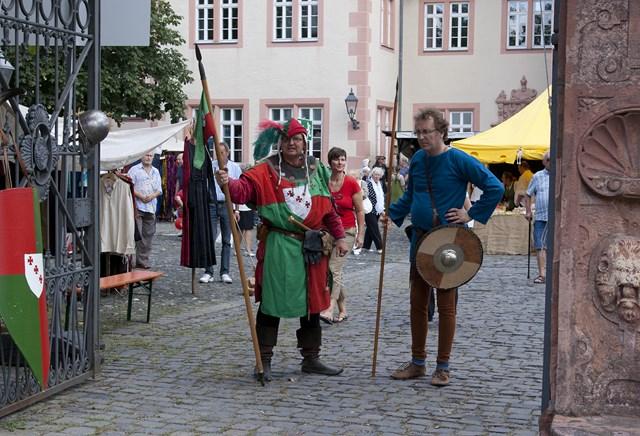 Средневековый базар во Фридберге