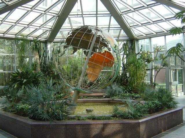 Пальмовый сад Франкфурта