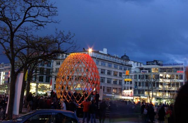 Праздник света во Франкфурте