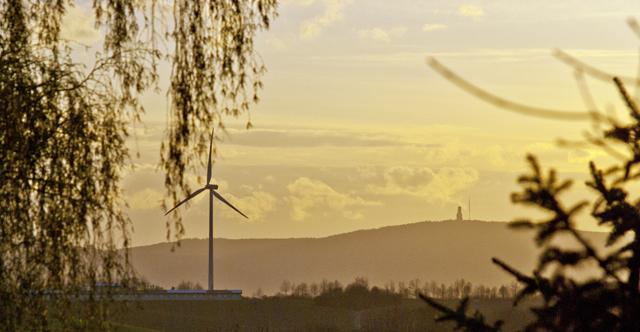 Протесты против ветряных электростанций